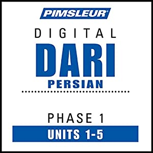Dari Persian Phase 1, Unit 01-05 Audiobook