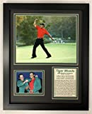 "Legends Never Die PGA Tiger Woods 2005 Masters Champion Framed Double Matted Photos, 12"" x 15"""