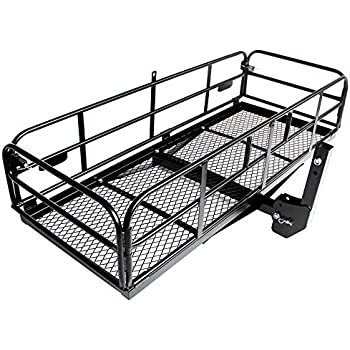 Trailer Hitch Luggage Rack Awesome Amazon Roadstar 60 X 60 Folding Cargo Hitch Carrier Luggage
