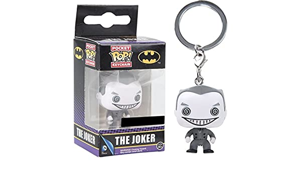 Funko - Porte Clé DC Heroes - Joker B&W Exclu Pocket Pop 4cm ...
