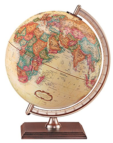 Replogle Globes Forester Globe, Antique Ocean, 9-Inch Diameter, Small, Off- Off-White ()