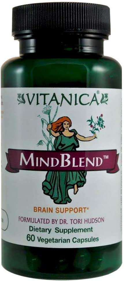 Vitanica, MindBlend, Brain Support, Vegan, 60 Capsules