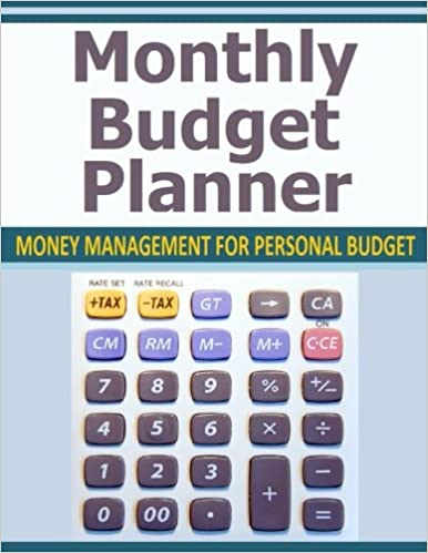 Monthly Budget Planner Money Management For Personal Budget Amazon