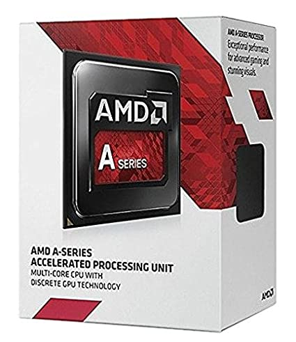 AMD A8-7600 Quad-core (4 Core) 3 10 GHz Processor - Socket FM2+ Retail Pack  - 4 MB - Yes - 3 80 GHz Overclocking Speed - 28 nm - AMD - 65 W