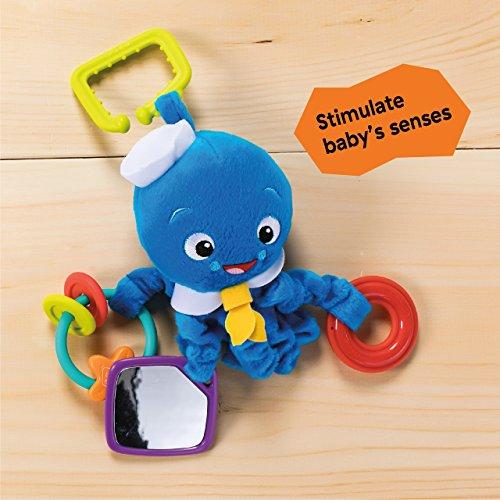 51jSVXSHGiL - Baby Einstein Activity Arms Toy, Octopus