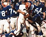 JIM BROWN CLEVELAND BROWNS 8X10 SPORTS ACTION PHOTO (XLT)