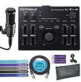 Best Vocal Processors - Roland VT-4 Voice Transformer Vocal Effects Processor Bundle Review