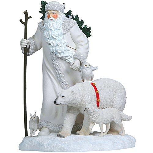 Pipka 10162 Limited Edition Arctic Santa With Polar Bear Figurine 22