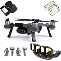 DJI Spark Accessories Set Bundle Combo Lens Cap Hood Sun Shade Camera Cover Protector Landing Gear Antenna Range Booster