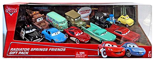 Disney / Pixar Cars Multi-Packs Radiator Springs Friends Gift Pack (Mattel Toys) (Mattel Radiator Springs)