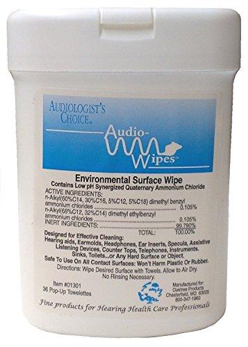 Audiologist Choice Audio-Wipes 36 pop-up towelettes Heari...