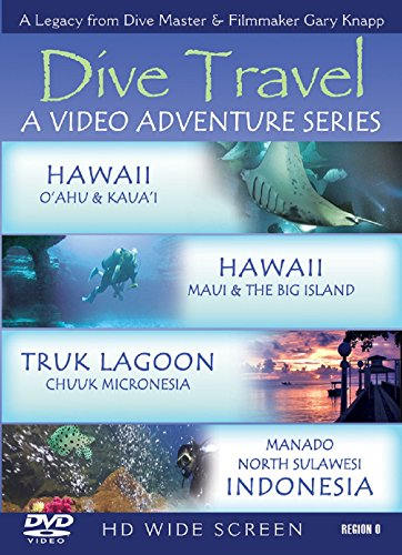 Dive Travel - Hawaii - O'Ahu & Kaua's - Hawaii - Maui & The Big Island - Truk Lagoon - Chuuk Miccronesia - Inndonesia - Manada North Sulawesi with Dive Master Gary Knapp