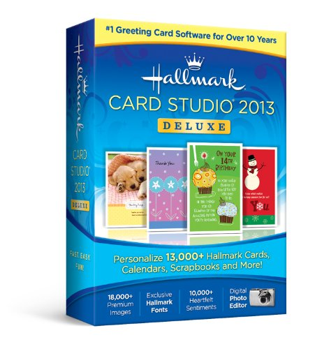 Amazon nova development us hallmark card studio deluxe 2013 nova development us hallmark card studio deluxe 2013 m4hsunfo