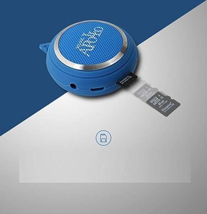 Mini portátil Bluetooth inalámbrico Altavoz Tarjeta ...