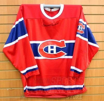 3940e74a1 Montreal Canadiens HOF Maurice Richard Signed Autographed Away Jersey