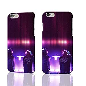 Daft Punk Photo Hard 3D Rough Case , Fashion Image Case Diy, Personalized Custom Durable 3d Case For iPhone 6 Plus- 5.5 inches