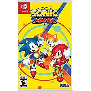 Hot Topic Sonic Mania Nintendo Switch