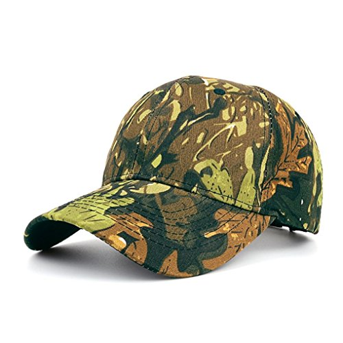Womail Men Camouflage Outdoor Baseball Cap Adjustable Hat For Boy ()