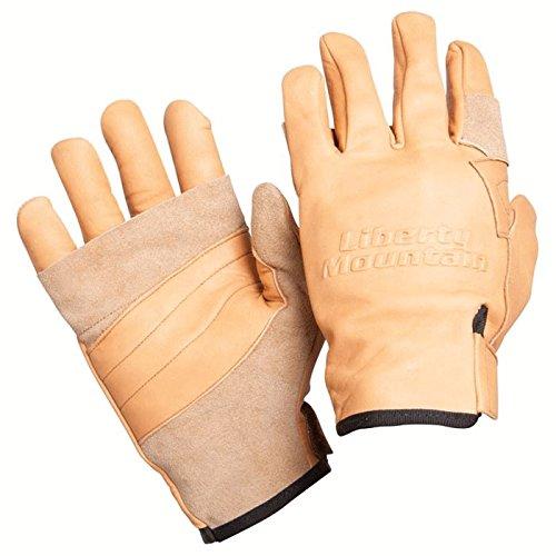 Rappel Gloves (Liberty Mountain Pro Rappel Glove Cowhide -)