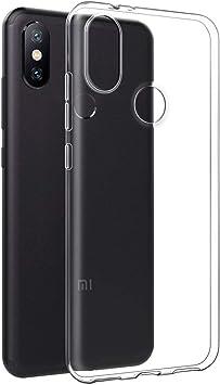 Eouine Funda Xiaomi Mi A2, Cárcasa Silicona Transparente Suave Gel ...