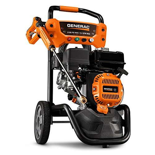 Generac 7019 OneWash 3,100 PSI, 2.4 GPM, Gas Powered