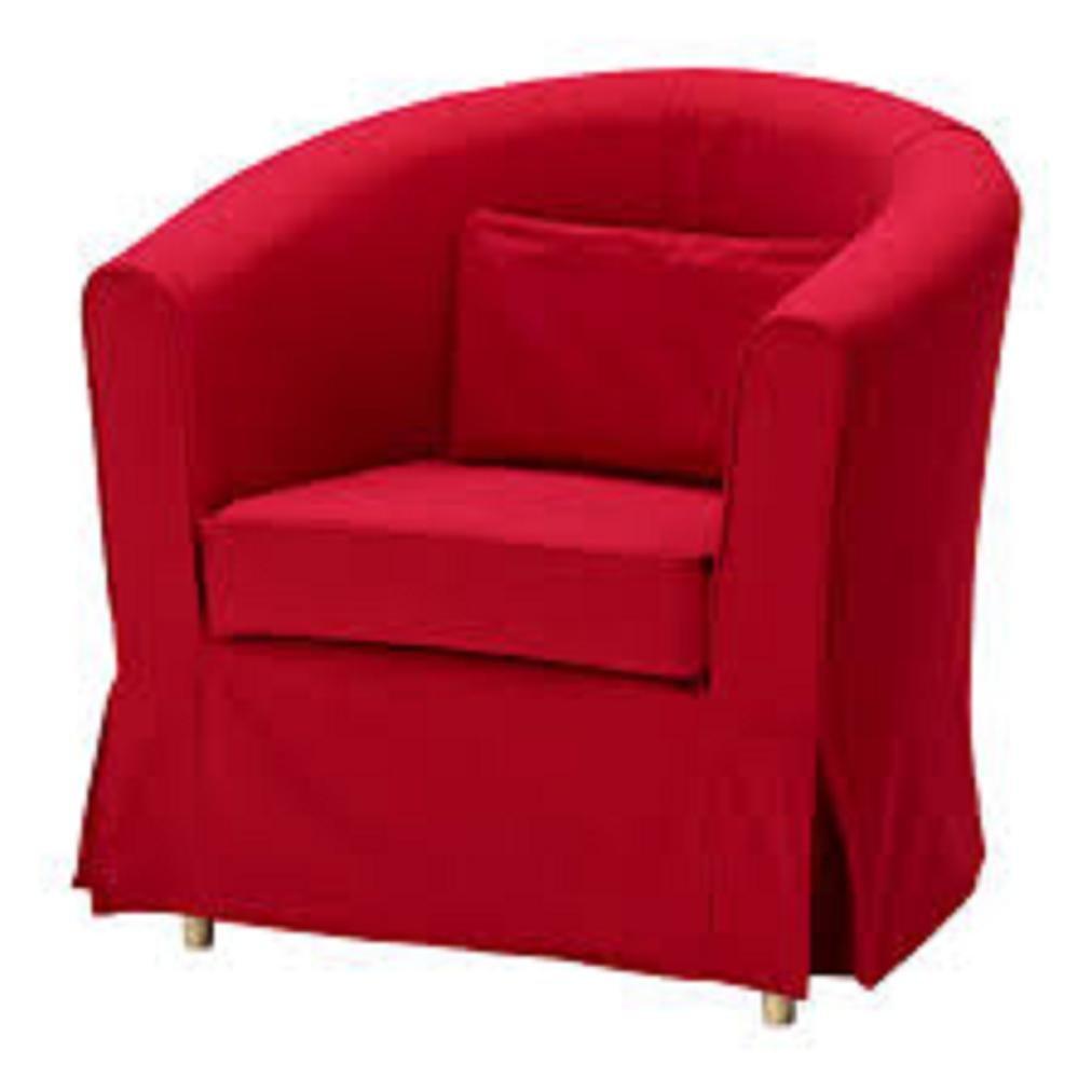 Amazon.com: IKEA EKTORP TULLSTA silla Slipcover Idemo roja ...