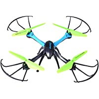 Kids 2.4GHz RC Hexacopter 4CH with 0.3MP Camera RC Quadcopter Drone Headless Mode Mini Aircraft Toy Blue