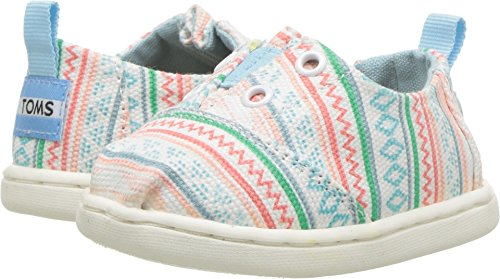 TOMS Kids Baby Girl's Lumin (Infant/Toddler/Little Kid) Multi Ethnic Tribal 8 M US Toddler