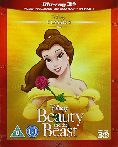 Beauty and the Beast [Blu-ray 3D+2D] [Region Free] (Limited Edition) [UK Import]