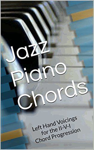 Jazz Piano Chords Left Hand Voicings For The Ii V I Chord