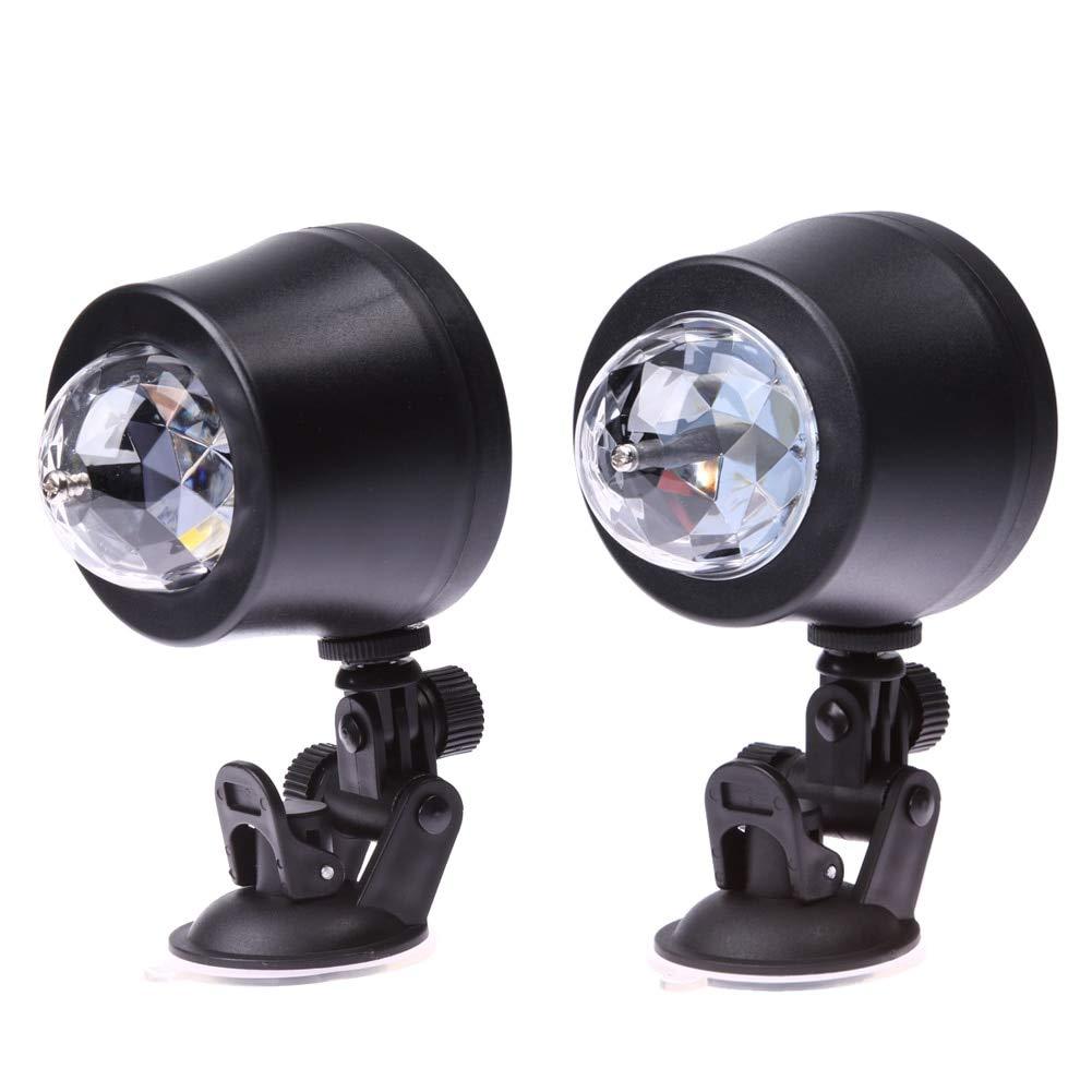 CALAP STORE - Car Music Rhythm LED light DJ Atmosphere Lamp 5V USB Power Sound Control Different Color Lights Lamp Car Interior Lights