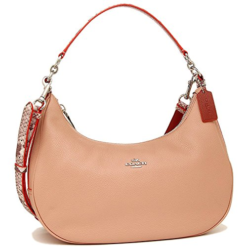Jual Coach Pebble Leather Harley East West Hobo - Cross-Body Bags ... 60396cdc96