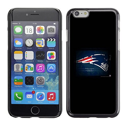 # Cellphone Hard Case PC Protective Cover Shell Case forApple Iphone 6 Plus / 6S Plus ( 5.5 ) # New England Patriot # Gift Phone Case Housing #
