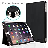 iPad Air Case, [CORNER PROTECTION] CaseCrown Bold Standby Pro (Black) with Sleep/Wake, Hand Grip, Corner Protection, Multi-Angle Viewing Stand