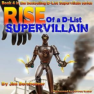 Rise of a D-List Supervillain Audiobook