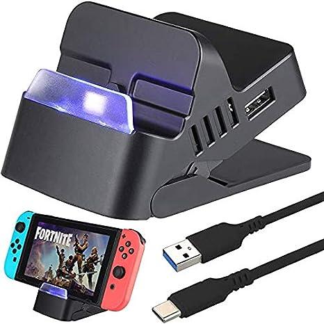 Zacro Switch Dock Base Soporte Portátiles 2K HDMI,Type-C a USB 3.0 ...