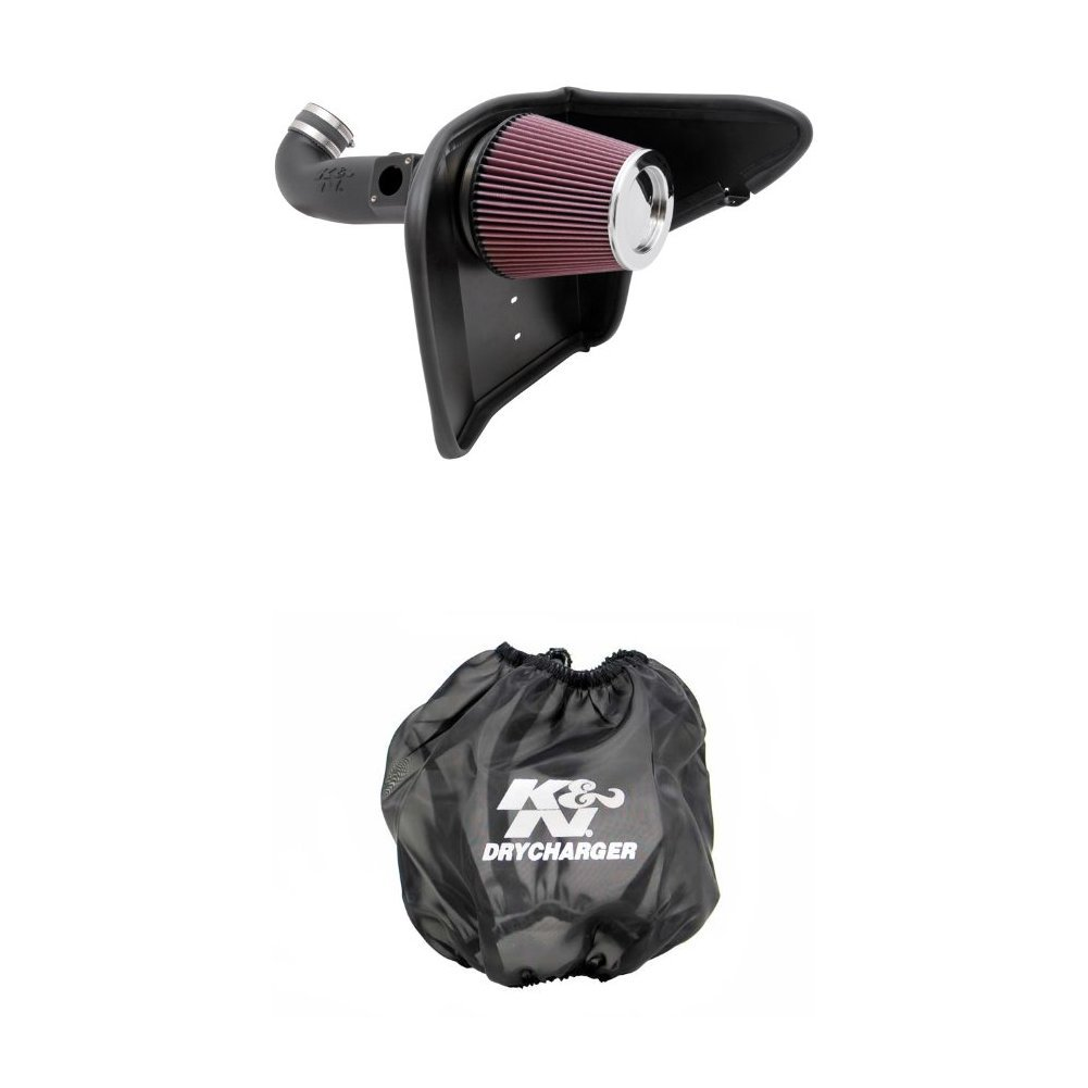 K/&N 63-3075 AirCharger Performance Air Intake System