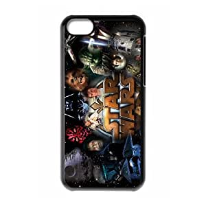 iPhone 5C Custom Cell Phone Case Star Wars Case Cover WWFK34215