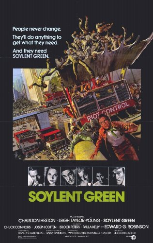 Soylent Green 11 x 17 Movie Poster - Style A - Museum Wrappe