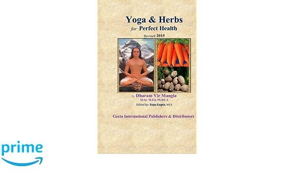 Yoga & Herbs for Perfect Health: Amazon.es: Sri Dharam Vir ...