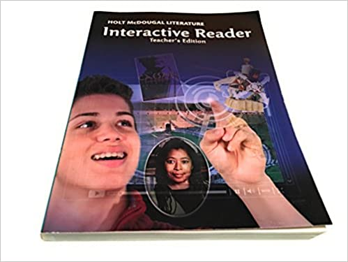 Holt mcdougal literature interactive reader teachers edition grade holt mcdougal literature interactive reader teachers edition grade 10 1st edition fandeluxe Image collections