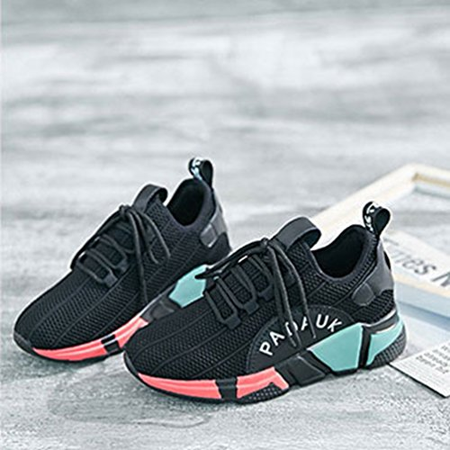 Lfeu Running Negro Mujer Lona Zapatillas De F1qrwF6