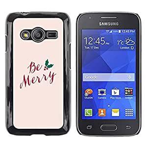 Exotic-Star ( Merry Xmas Christmas Holidays Winter ) Fundas Cover Cubre Hard Case Cover para Samsung Galaxy Ace4 / Galaxy Ace 4 LTE / SM-G313F