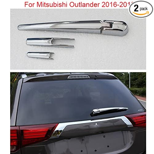 Chrome Rear window wiper cover trim Decorate For Mitsubishi Outlander 2016 2017 2018 YongChao