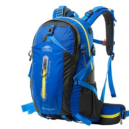 HWLXBB Outdoor Bergsteigen Tasche 40L Anti-Spritzwasser Wasser Licht Reise Bergsteigen Rucksack Männer und Frauen Walking Bergsteigen Tasche ( Farbe : 13* , größe : 50L )
