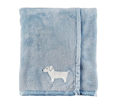 Carter's Baby Boys' Dog Blanket, Blue ()