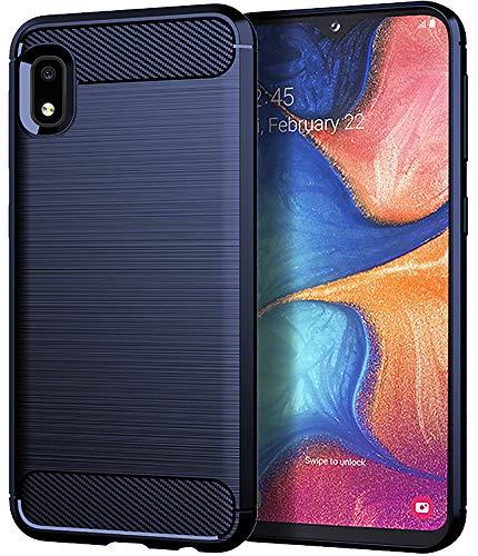 Galaxy A10E Case, Samsung A10E Case, Asmart Shock Absorption Galaxy A10E Phone Case Slim TPU Bumper Cover Soft Flexible Galaxy A10E Skin Lightweight Protective Case for Samsung Galaxy A10E, Blue from ASMART