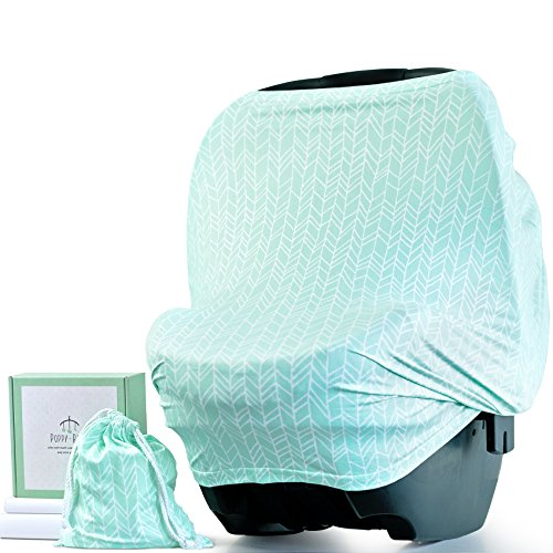 Baby Car Seat Cover & Multi-Use Covers for Nursing, Breastfe