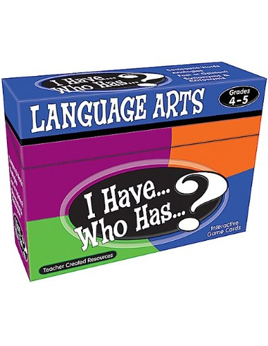 (Teacher Created Resources I Have... Who Has...? Language Arts 4-5 (7831))