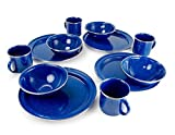 GSI Outdoors Pioneer Table Set – 12 Pieces (BLUE)